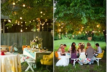 Outdoor party ideas / by Monika Iskra-Rigby