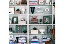 Bookcase Styling and Bookcases / by Docia Powell