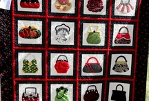A - Quilts with purses and shoes / by Diana Minor