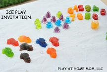 ICE PLAY - for hot or cold weather / by Play At Home Mom