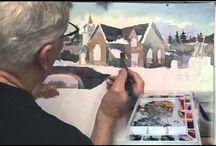 Paintings -  BUILDINGS / by Cindy Latoski-Longstaff