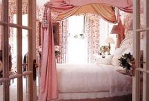 Pink Bedrooms / by Rachel Gray