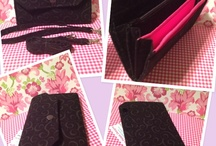 Large Bifold Clutch wallets / by TeePetals Designs