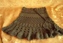 Tejidos / Prendas tejidas a crochet o palillo / by Marcia Rojas