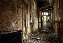 Abandoned buildings  / by Rebecca Spraggins