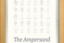 Ampersands / by 'Phoenix Thomas.