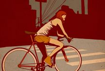 graphic traffic / graphic design and illustrations I'd hang on my walls / by Gaby Monge