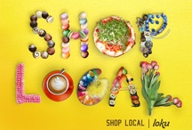 Shop Local!  / Make an impact on your local economy, shop at locally owned and operated business and keep the dollars in your community.  / by Denise Duck