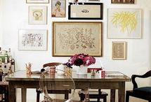 art wall / by Julie