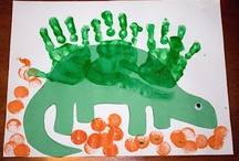 Preschool - January  / Ideas and crafts for centers  Themes: New Years, Arctic Animals, Winter/Snow, Dinosaurs, Kansas Day, Groundhog Day, Weird Science / by Mikayla Dreyer