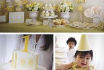 First Birthday Party Ideas / by Megan {Our Pinteresting Family}