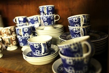 Blue and white / by Gayla Cowling