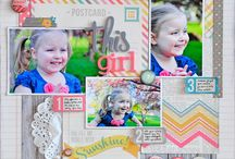 Scrapbook Pages - Simple Stories / by Lauren Mullarkey