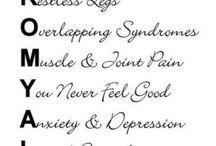 Health-Fibromyalgia/Chronic Fatique/ME / by Janet Bailleul