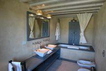 Tuscan bathrooms / by ClassicVacationRental.com