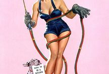 Pin ups and vintage / by Shelby Walkinshaw