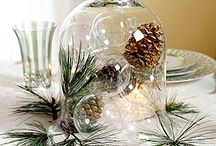Christmas Centerpieces and Decorations / by Patti Ewing