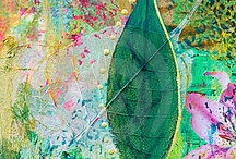 Collage leaves / by Gail Bascombe