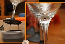 Roundup Post: DIY Drinking Glasses / by Heather Walrath