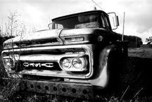 old trucks  / by Alyssa Bell