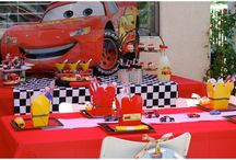 Korben's 6th Birthday? / Party ideas for my son's 6th birthday with the Disney Cars or Sonic the Hedgehog theme.  / by Diana Woodbury