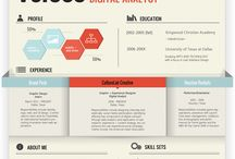Infographic Resume / by Jennifer Silas
