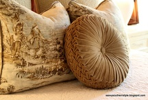 toile and beautiful materials / by Lyn Higgs