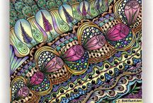 Zentangle Color / by Pamela Reed