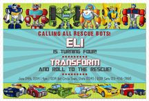 Rescue Bots Party / by Amy Willis
