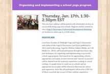 Kids Yoga Academy / Virtual #kidsyoga conference with live webinars, fab lesson plans, teaching resources, insightful tutorials & more. Ton of resources to share the benefits of yoga with kids, youth & families. / by Yoga In My School