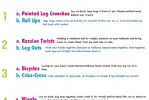 Health tips/workouts <3 / by Tiffany Burns