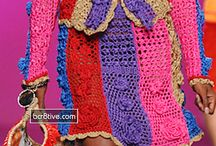 Knitted fashion / by Sharon Varian
