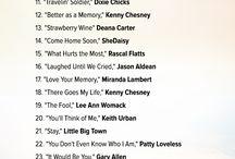 Country songs / by Linda Glassburn
