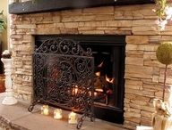 Fireplace/mantle / by Misty King