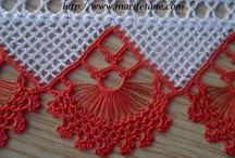 Havlu Kenarı Modelleri / by Marifetane Hobi Dünyası