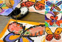 art lesson ideas / by Katie Giroux