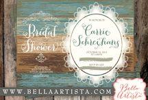Rustic Bridal Shower / by BellaArtista