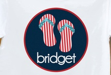 Personalized 4th of July shirts / by zoey's attic / pecking order