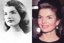 "Jacqueline (Bouvier) Kennedy Onassis & Related People / Sen. Edward Kennedy eulogized her by saying, ""No one ever gave more meaning to the title of First Lady. She was a blessing to us and to the nation – and a lesson to the world on how to do things right, how to be a mother, how to appreciate history, how to be courageous. No one else looked like her, spoke like her, wrote like her, or was so original in the way she did things. No one we knew ever had a better sense of self.""  / by Barbara Neblett"
