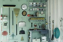 Garage and craft room / by Anne Tremblay