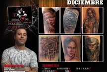 Calendario Tatuadores 2014 / Calendario 2014 con tatuajes de artistas tatuadores de Tatuadores.com. Tattoo Artists from Spain. Tattoo Calendar 2014. / by Tatuadores.es