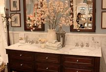 Home - Bathroom Inspiration / by Amber Johnson