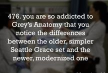 Grey's Anatomy (: / by Cailey Hutson