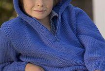 Gebreid/gehaakte jongenskleding/knitting/crochet for boys / Verry nice things for boys. Hele leuke dingen voor jongens. / by Marieke Burgess