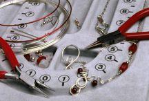 Bead jewelry  / by Tammy Vonderschmitt
