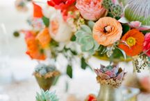 floral board: protea love / by The Perfect Petal