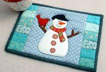 Sew mug rugs / Christmas / by Stacy Farrar