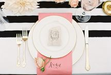 Inspiration || table settings / by Catrina Ann