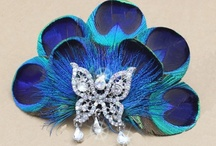 Peacock Wedding Accessories / Need some ideas for a peacock theme wedding? Here you may find some useful info. All about peacock feather  items, handmade with top quality peacock feathers. All available on KissPat feather store: http://hifeather.com/ / by KissPat Feather