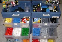 Lego Storage Ideas / by The Organised Housewife